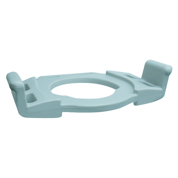 Reversible Toilet Seat with Armrests-Transfer Seat