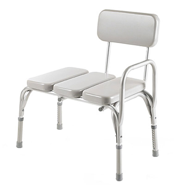 Invacare Transfer Bench with Padded Vinyl