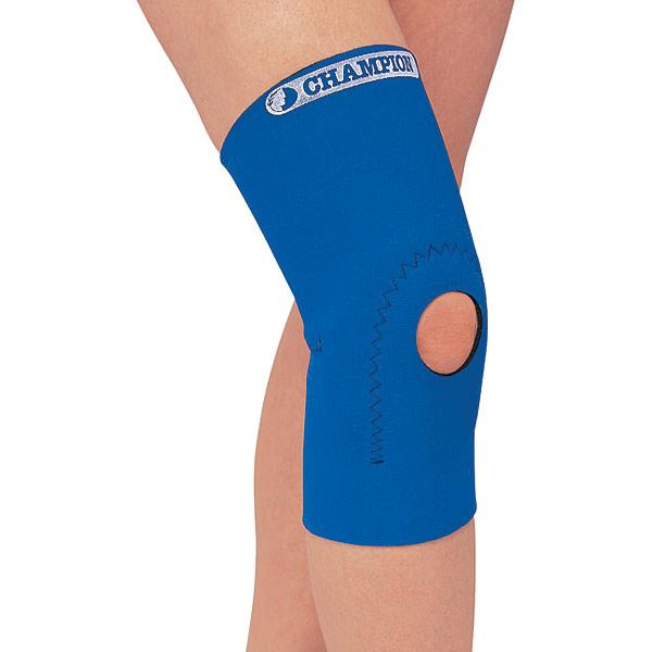 Knee Brace with Hole, Size Large