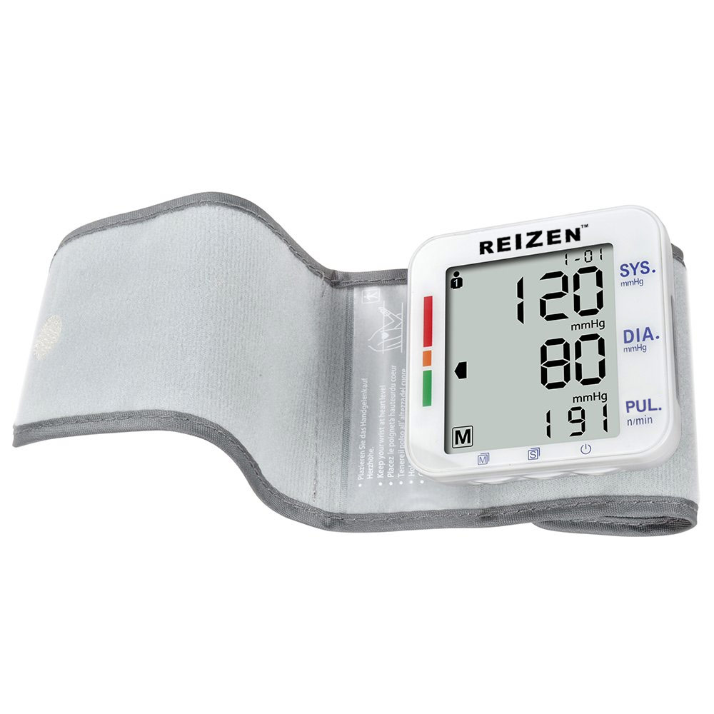 Reizen Wrist Talking Blood Pressure Monitor - English