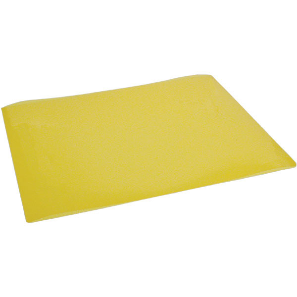 Transparent Yellow Reading Aid