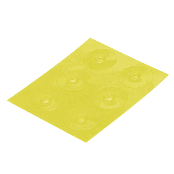 Color-Dots Tactile Key Locators - Yellow