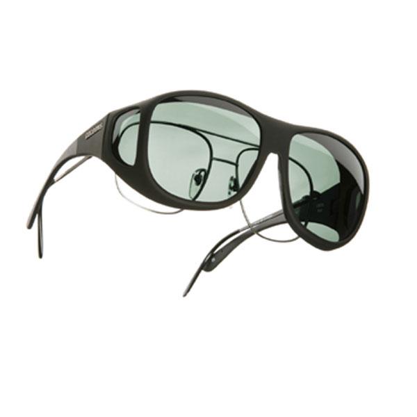Cocoons L Pilot OveRx Sunwear-Black Fr-Gray Lens