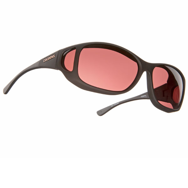 Cocoons Low Vision MX-Black Fr-Boysenberry Lens