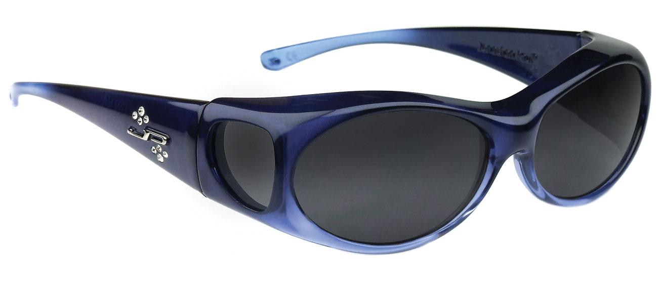 Aurora Sapphire Fit Over Sunglasses- Polarvue Gray