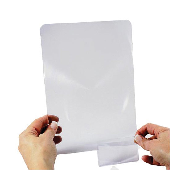 Handi-Lens 2x Sheet Magnifier + Wallet Magnifier Value Pack