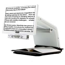 Tempus HD Electronic Magnifier - White - 20in