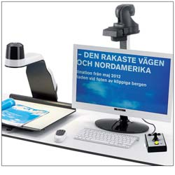 Contrast HD and HD Distance Electronic Magnifiers