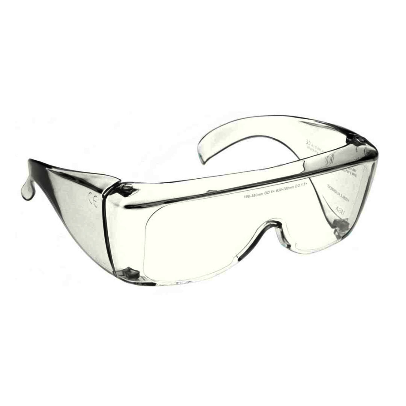 Clear Safety UV PPE Glasses for Infection Control