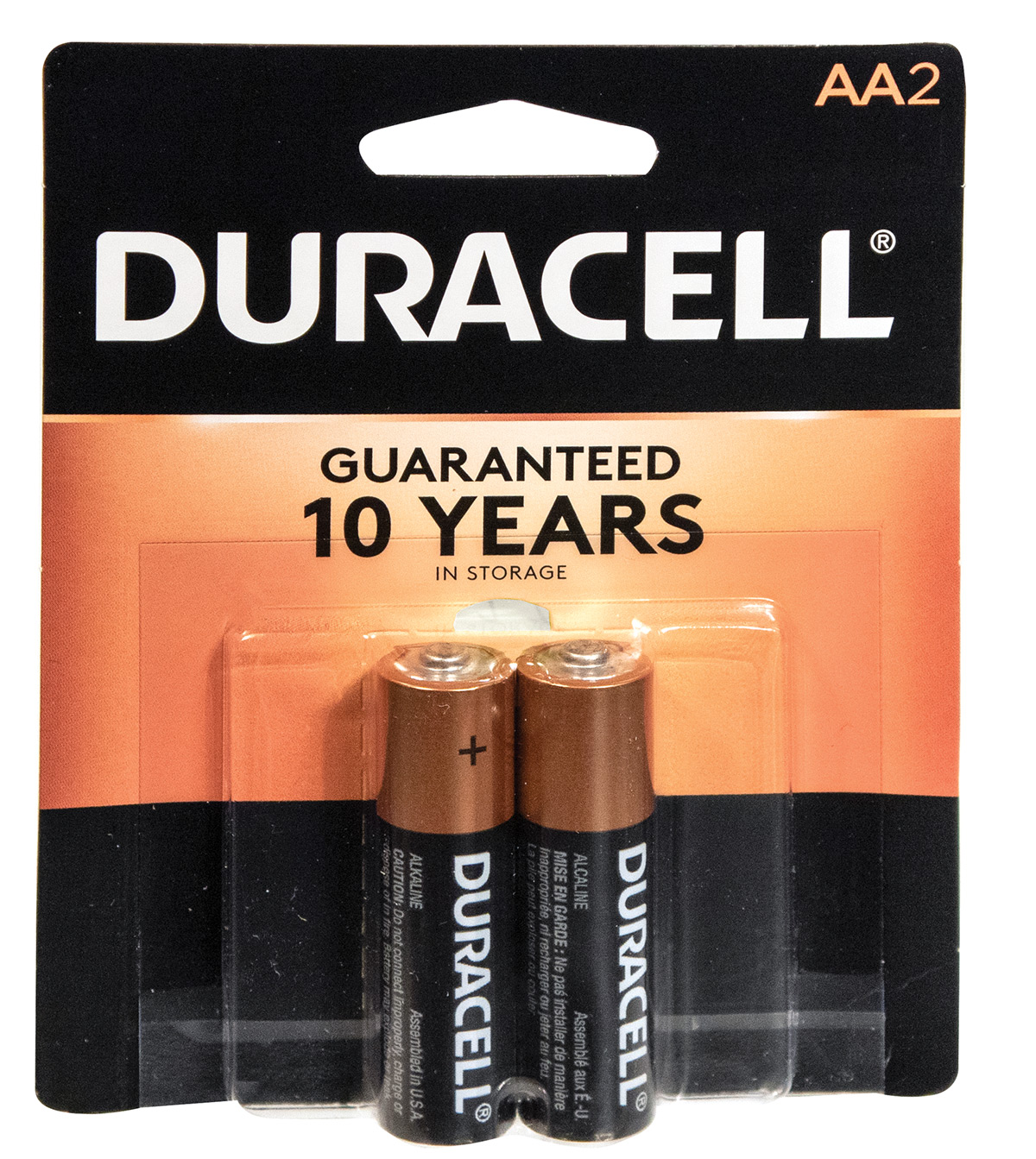 Duracell AA Batteries -2 per pack