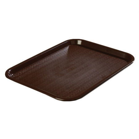 Cafeteria Tray - Chocolate Brown - 10-in x 14-in