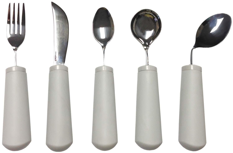 Soft Handle Bendable Utensils -Set of 4