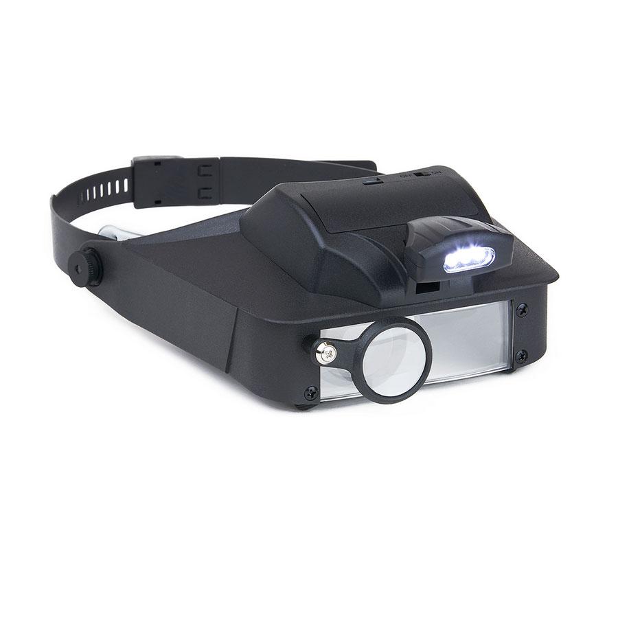 LumiVisor- Visor Magnifier with LED Light