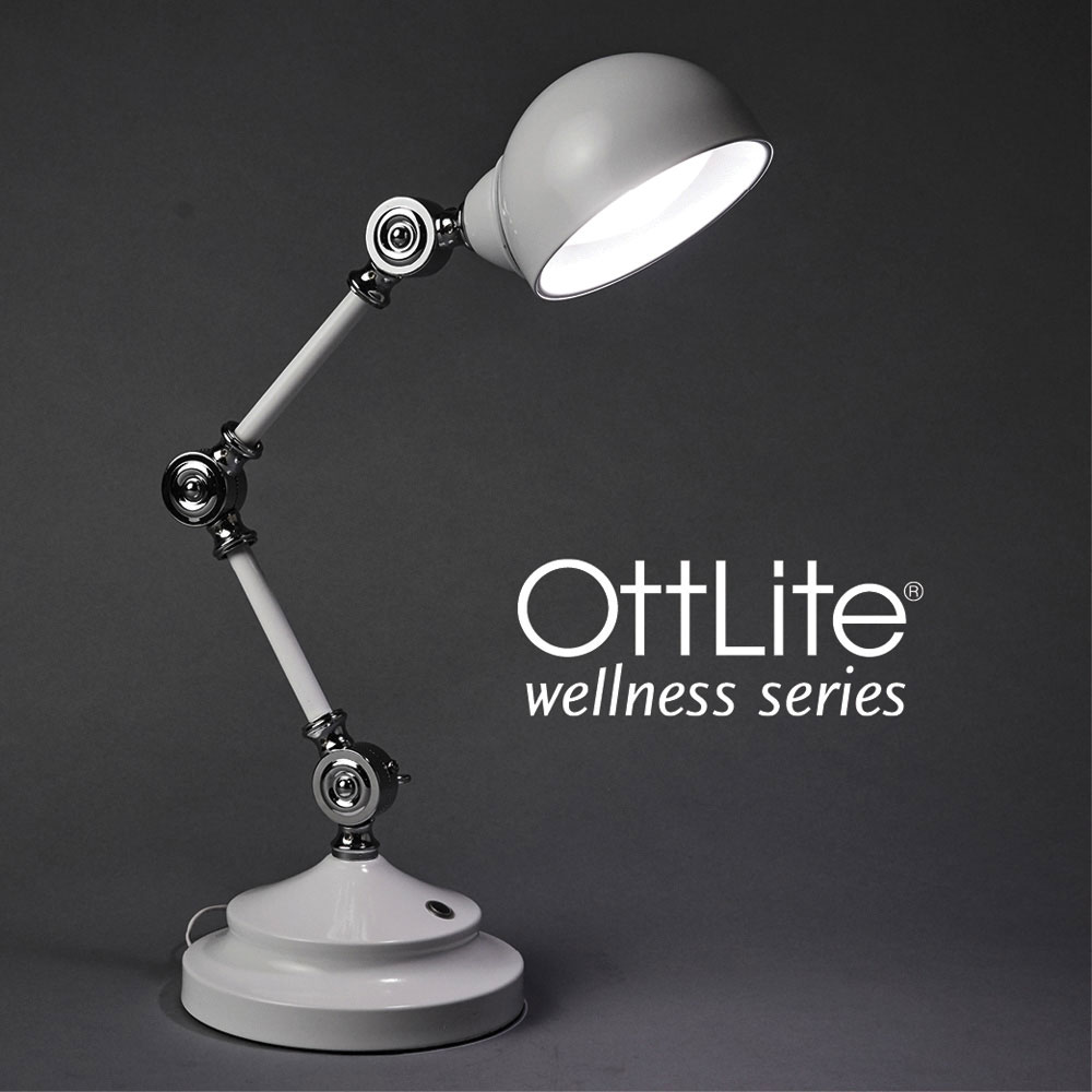 Ott-Lite Revive LED Desk Lamp - White