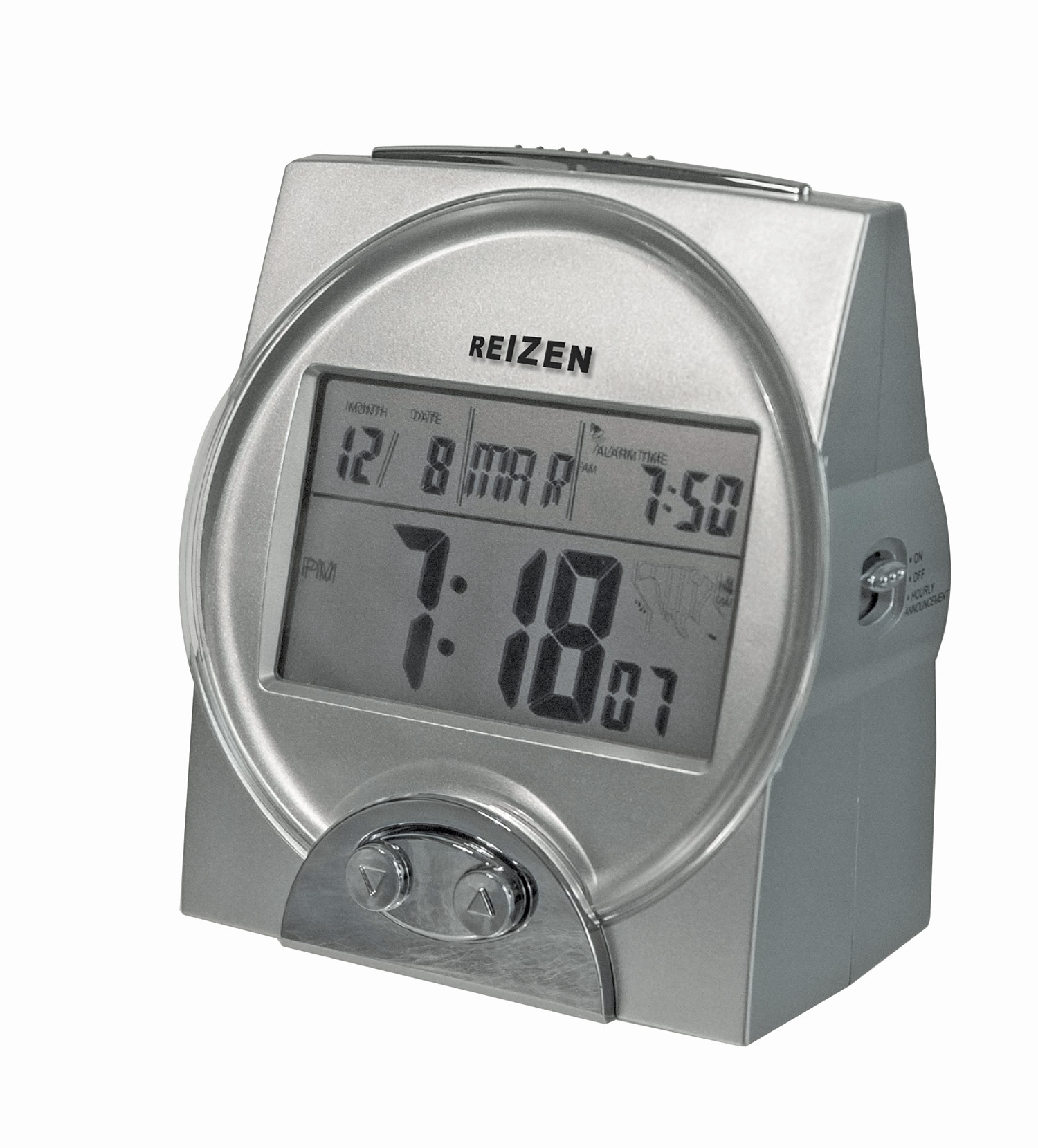 Reizen Spanish Talking Atomic Alarm Clock