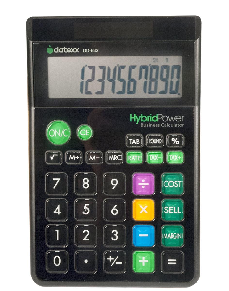 Calculator Hybrid Power Business 12 Digits