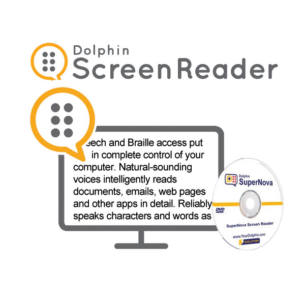Dolphin Screen Reader - CD Version