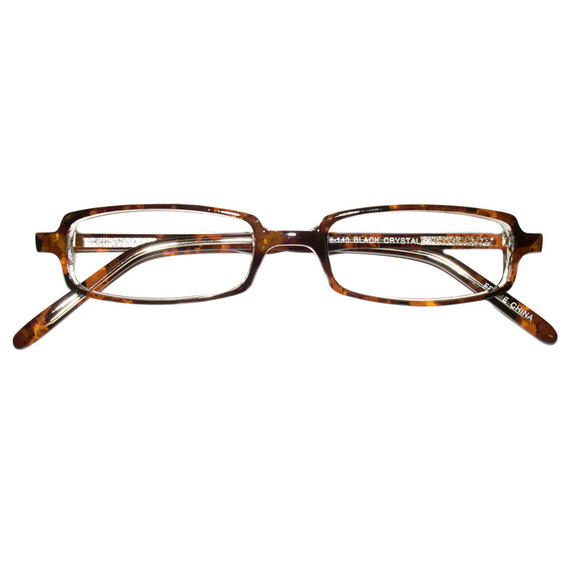 Prismatic Spectacles 10D with 12 Base in Prism 44mm Frame Tortoise