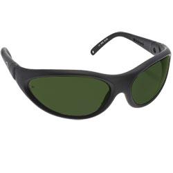 Noir Spectra Shields Wrap Around 18 Percent Medium Grey-Green