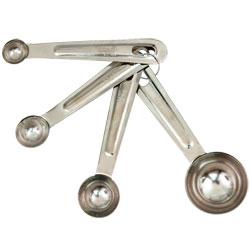 Stainless Steel Measuring Spoon Set- 4 pcs.