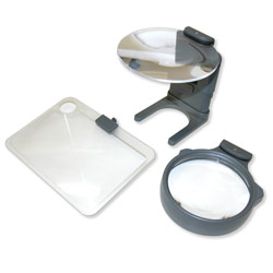 Hands-Free LED Lighted Hobby Magnifier