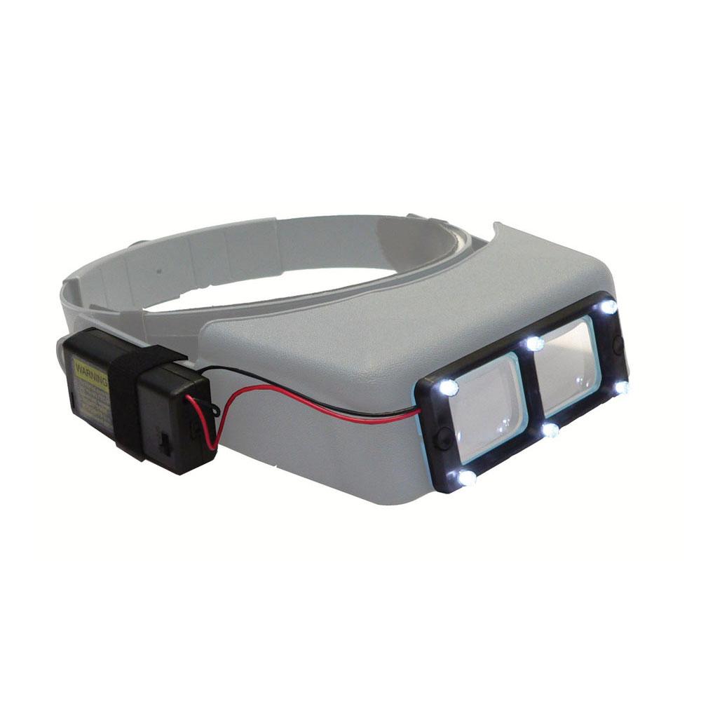 Quasar LED Light Attachment for Optivisor Magnifying Visors