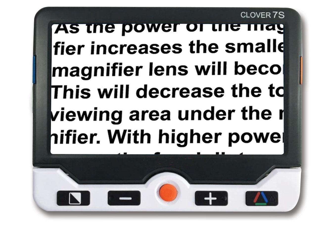 Clover 7s Handheld Video Magnifier
