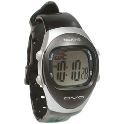 Mens Talking 4-Alarm Medical Watch